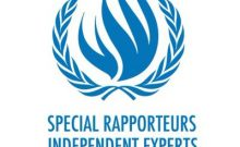 This is an image of the UN Special Procedures Independent Experts Logo